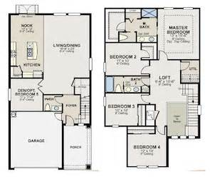 Ryland Townhomes Floor Plans Ryland Homes Sandpiper Model Home At Watergrass Named