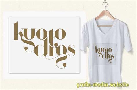 desain kaos jadul 15 font distro untuk desain baju kaos keren grafis media