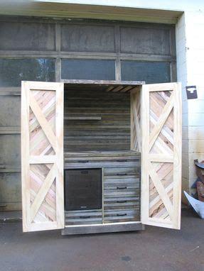 custom reclaimed merry maker wine fridge cabinet   antiquity custommadecom