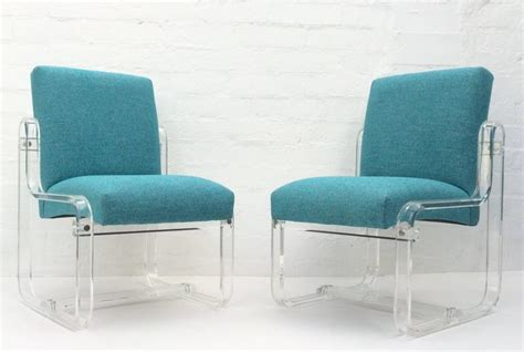 set of four acrylic dining chairs by for sale at 1stdibs