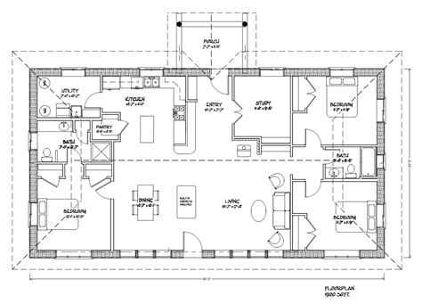 Post And Beam House Plans Floor Plans Eco Family 1900 Straw Bale Plans Strawbale Com