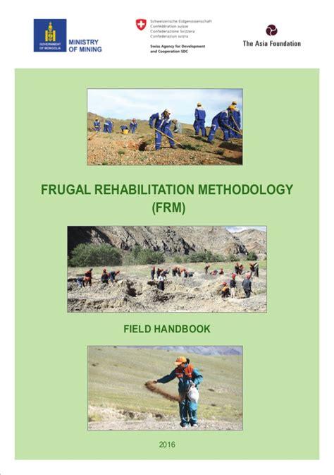 Frugal Scrapbooking 2 6 by Mongolial Frugal Rehabilitation Methodology Field Handbook