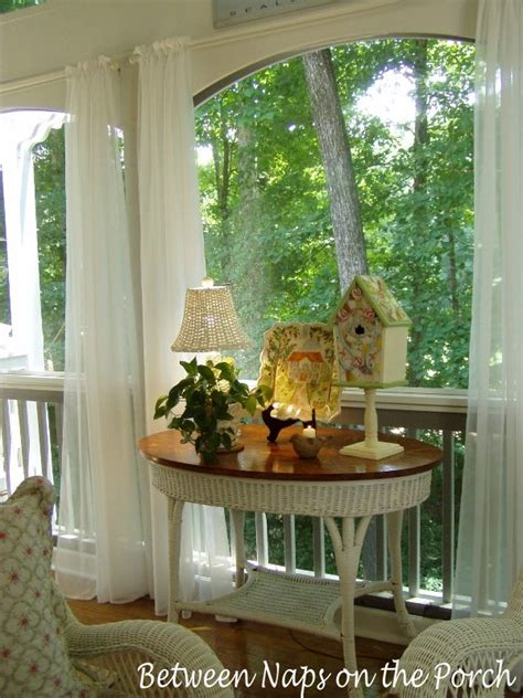 screened in porch curtains waterproof outdoor wicker l for porches or outdoor spaces