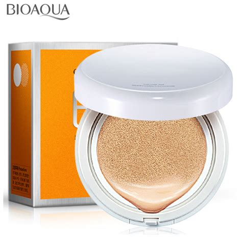 Bedak Bioaqua Bioaqua Air Cushion Bare Make Up Bb Spf 50