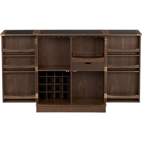 crate and barrel wine cabinet maxine bar cabinet