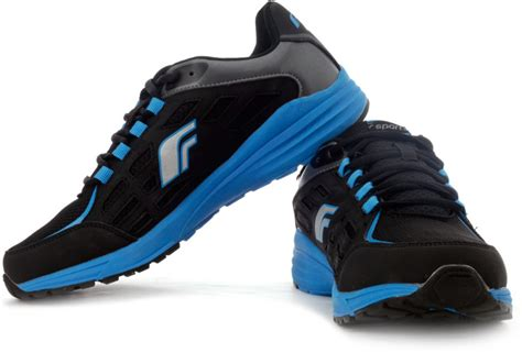 f sports airwave running shoes buy black blue color f