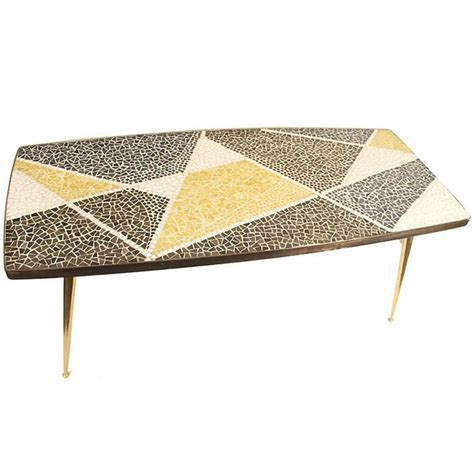 Mosaic Coffee Table Mosaic Coffee End Table Mid Century Mid Century Vintage And Mosaic Tables