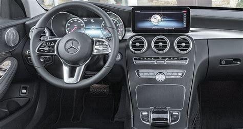 mercedes c 2019 interior 2019 mercedes c class preview consumer reports