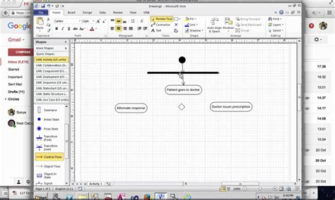 visio activity diagram creating activity diagram in microsoft visio