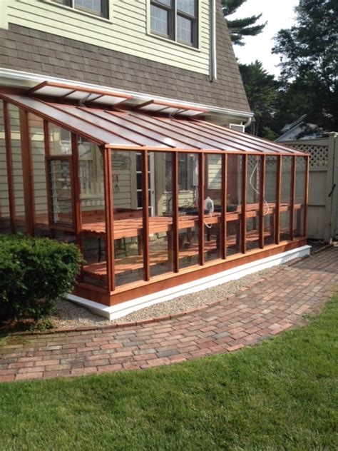 glass lean to roof kit deluxe greenhouse gallery sturdi built greenhouses