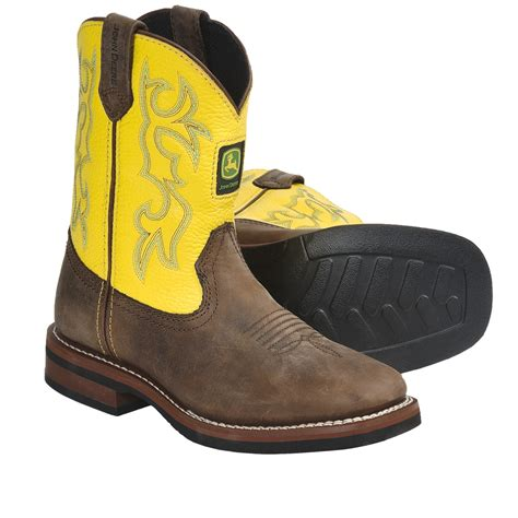 boots for boys deere footwear growing like a cowboy boots