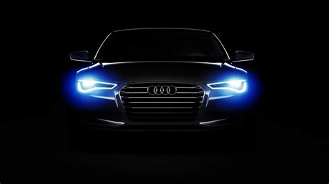 audi headlights in dark cars audi audi a6 lights dark