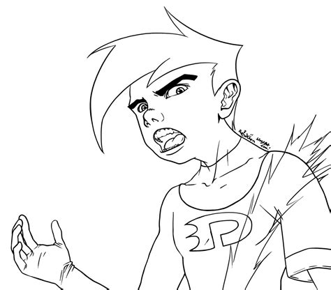 Printable Danny Phantom Coloring Pages Coloring Me Danny Phantom Coloring Pages