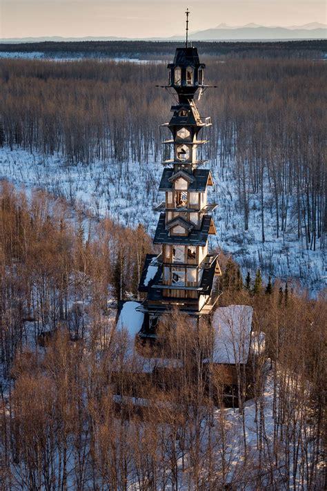 dr seuss house dr seuss log cabin tower house in alaska is massive insidehook