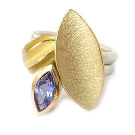 Handmade Gold Rings Uk - sue contemporary modern and unique rings and jewellery
