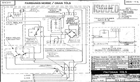 wiring diagram for onan 5kw generator circuit diagram