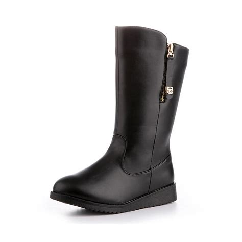 plus size boots boots new 2015 autumn winter fashion motorcycle