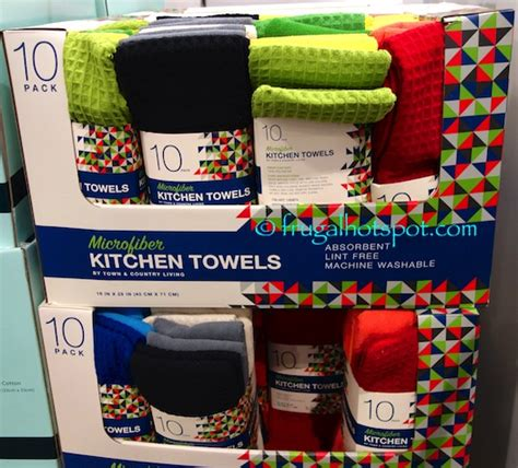 Town And Country Living Kitchen Towels by Towel Frugal Hotspot