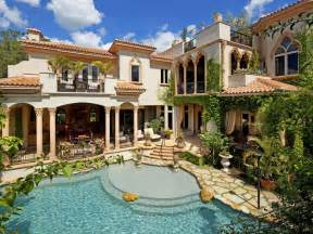 Mediterranean Style Mansions by Mediterranean Style Mansion In Florida