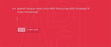 asosiasi desain grafis indonesia survei asosiasi desainer grafis indonesia adgi surabaya