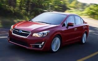 Subaru Sedan 2016 Subaru Impreza To Feature Next Wrx Concept Changes