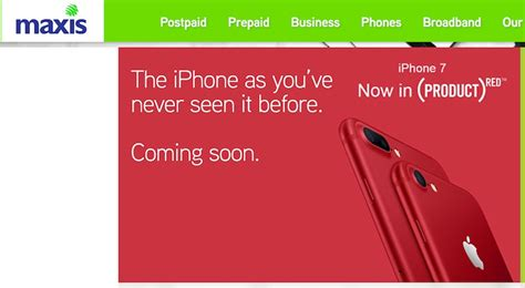 maxis digi and celcom teases new iphone 7 coming soon lowyat net