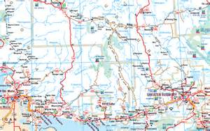 road map of ontario canada wakami lake provincial park it s about travelling
