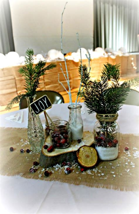 christmas center table decorations great rustic table decorations ideas with colorful flowers homelk