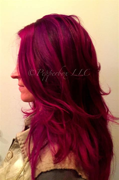 L Oreal Excellence 5 62 1 Pcs hair color by reed using pravana vivids orchid