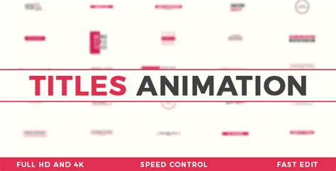 titles animation corporate after effects templates f5