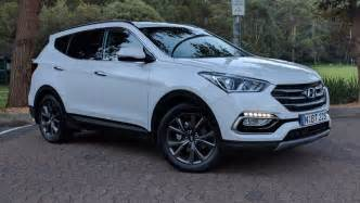 Hyundai Santa Fe Suv Hyundai Santa Fe Active X 2017 Review Weekend Test