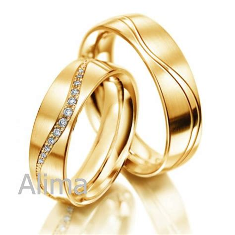 wedding gold rings for couples wedding promise