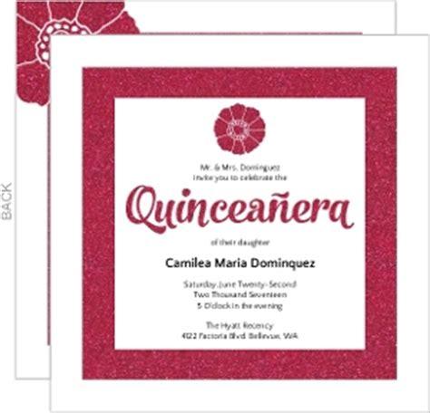 Cheap Custom Quinceanera Invitations Inviteshop 15 Invitations Templates