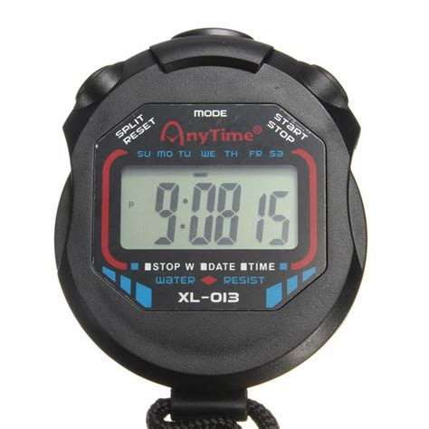 Stopwatch Xl 013 By Bromarket buy waterproof digital chronograph timer stopwatch counter
