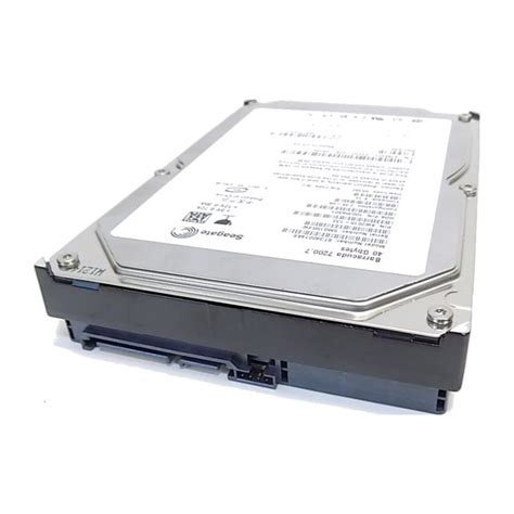Harddisk Seagate 40 Gb seagate st340014as 40gb sata drive with warranty the room that time forgot