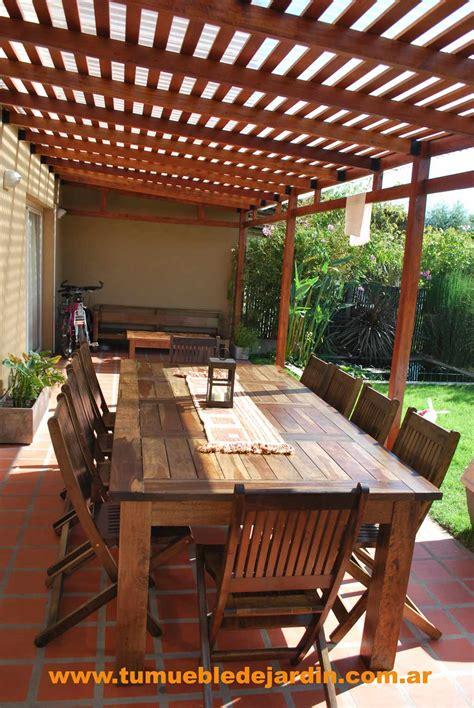 mesas de madera  galerias
