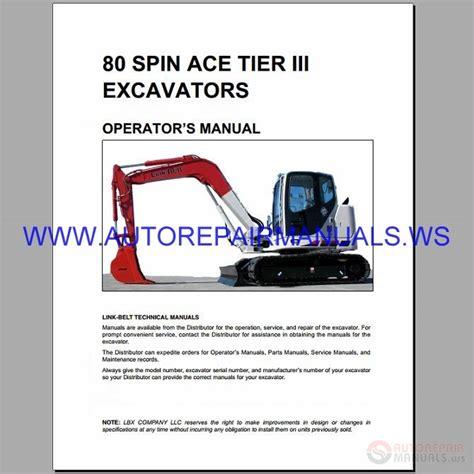 linkbelt excavator full set manual dvd auto repair manual forum heavy equipment forums