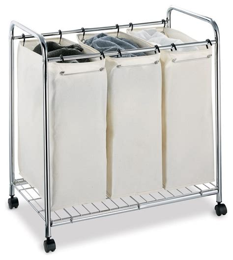 4 section laundry her 3 section laundry sorter contemporary hers