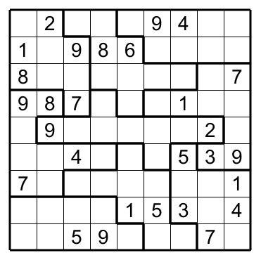 printable jigsaw sudoku puzzles free jigsaw sudoku e no 3