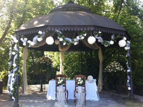 gazebo matrimonio gazebo allestito per la cerimonia di nozze cascina la