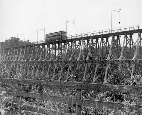 Trestle Fence Columbus Delaware Marion Railway