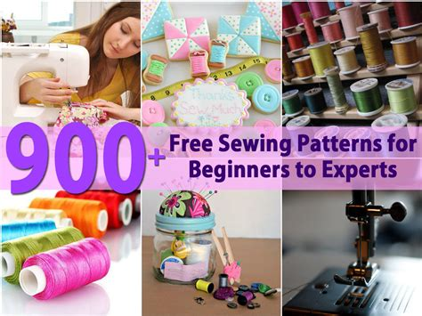 diy crafts for beginners 900 free sewing patterns for beginners to experts diy crafts