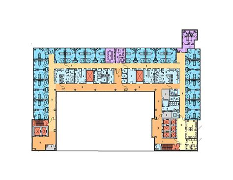 icu floor plan improving intensive care environments voa