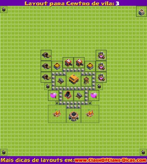 video de layout cv 5 melhores layouts para clash of clans centro de vila n 237 vel