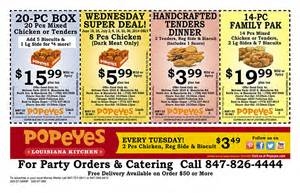Popeyes coupons 10 pc mixed 2017 2018 best cars reviews