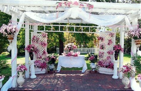 How To Decorate A Pergola For A Wedding by Pergola Construction Home Improvement Resource