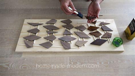 homemade modern homemade modern ep119 diy concrete table with walnut inlays