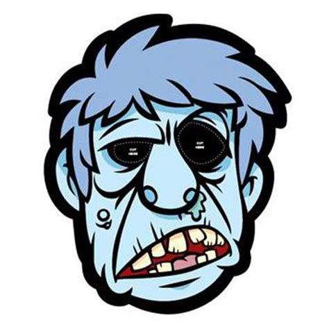 printable zombie masks 34 best images about masks for children on pinterest