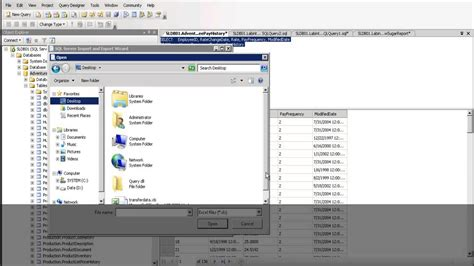 sql query exles tutorial sql server export sql query data to excel youtube