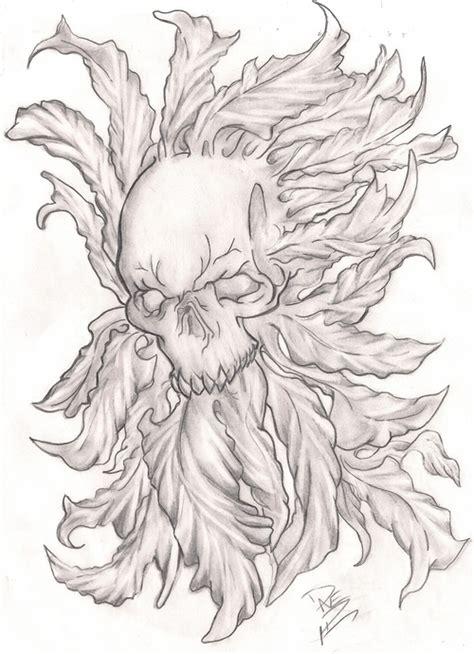 skull pot leaf tattoo designs leaf skull picture at checkoutmyink